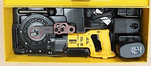 REMS Curvo basic-pack-Robuste Rohrbiegemaschine akku-curvo li-on basic-pack -