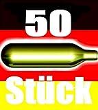 NEMT - Lot de 50cartouches de CO2 pour tireuse à bière de tout type - Avec 16g de CO2-50Be