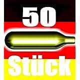 NEMT  50 Be 50 Stück CO2 Bierkapseln für alle Bierzapfanlagen mit 16 g CO2