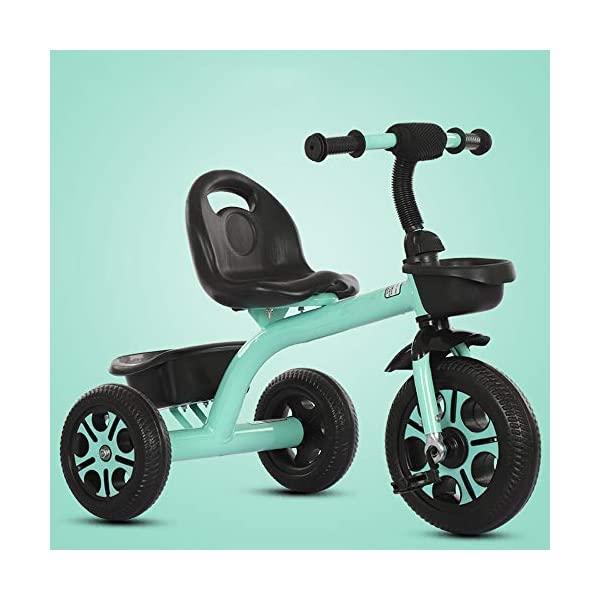 LRHD Children's Tricycle, Children's Tricycle, Stroller, Tricycle, Tricycle Pedal Bicycle, Boys and Girls Aged 2-3-4-5 Years Old, Indoor and Outdoor, with Storage Boxes, Boys and Girls Riding Toys LRHD 1. [Perfect Growth Partner]: Tricycle is suitable for children aged 2-6. Let this tricycle grow up with your children. 2. [Adjustable Seat]: The tricycle seat can be adjusted in front and rear gears, so the baby does not need to change cars when growing up, and it is suitable for children of different height stages. 3. [Humanized Design] These cleverly designed tricycles and tricycles have many features your children will like! With one basket at the front and one basket at the back, your children can take their favorite toys along the way! 9