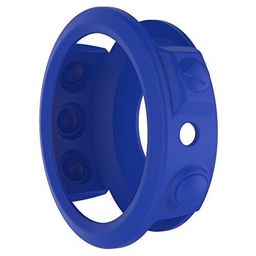 Cyond Lightweight Smart Watch Silikon-Schutzhülle, Sportuhr - Schutzrahmen, Drop/Wasserdicht und Kratzfest, für Garmin Fenix 5 Plus Watch (Blau)