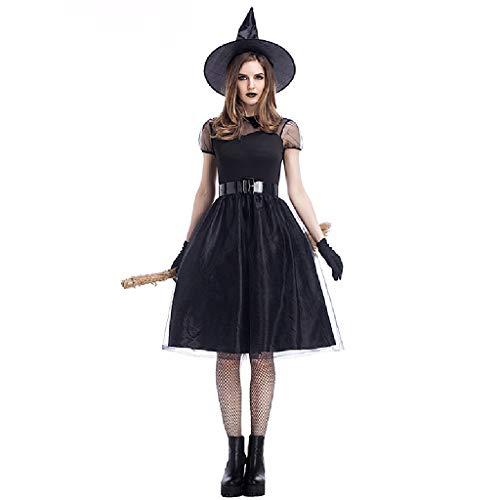 Erwachsene Ghost Robe Kostüm - TcooLPE Königin Hexe Rollenspiel Kleid, Halloween