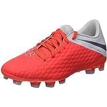 Nike Jr Hypervenom 3 Academy FG, Zapatillas de fútbol Sala Unisex para Niños
