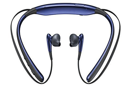 Penlight Bluetooth Wireless Headphones in-Ear Earphone with Mic Stereo Sports Neckband Back Button for All Android & iOS Smartphones - Black Sapphire Image 3