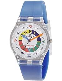 Maxima Analog White Dial Children's Watch - 04423PPKW