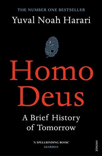 Buchseite und Rezensionen zu 'Homo Deus: A Brief History of Tomorrow' von Yuval Noah Harari