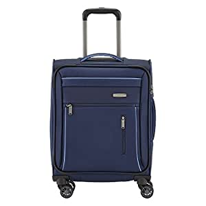 Travelite CAPRI 4 Rad Trolley S, Marine, 89847-20 Bagaglio a mano, 55 cm, 38 liters, Blu (Marine)