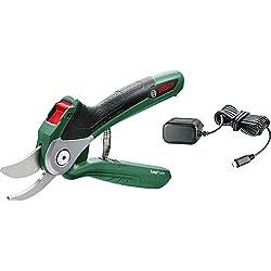 Bosch 06008B2000 Sécateur sans-fil EasyPrune (Chargeur USB, emballage blister, 3,6 V, 1,5Ah)