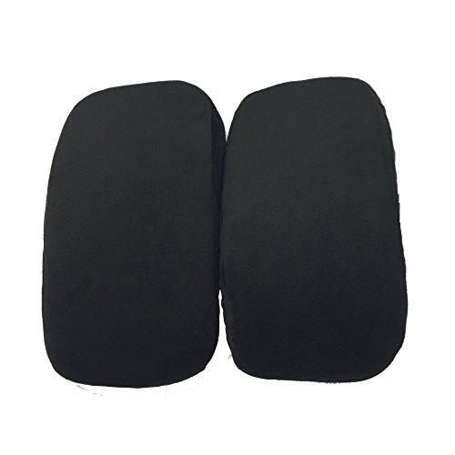 Stuhl Armlehne-pads (WISLECT Memory Foam Armlehne Pad, Stuhl Armlehne Pad Kissen Pad Kissen für Home Office Stuhl, Unterarme Druckentlastung)