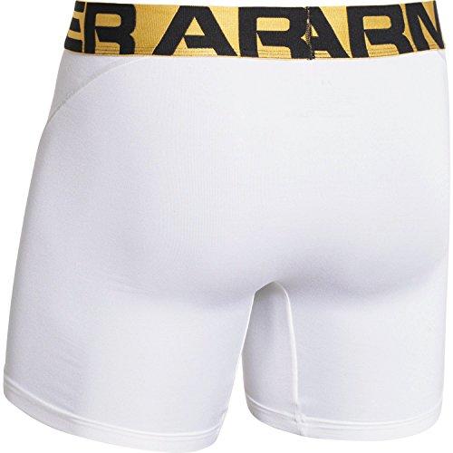 Under Armour UA Elite 15,2cm Boxerjock boxer slip White/Elemental/Metallic Gold