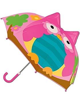 Regenschirm / Schirm /Kinderschirm / Kinderregenschirm / Kinder Regenschirm/ Eule / Eulenschirm / 3 D Pop Up Schirm...