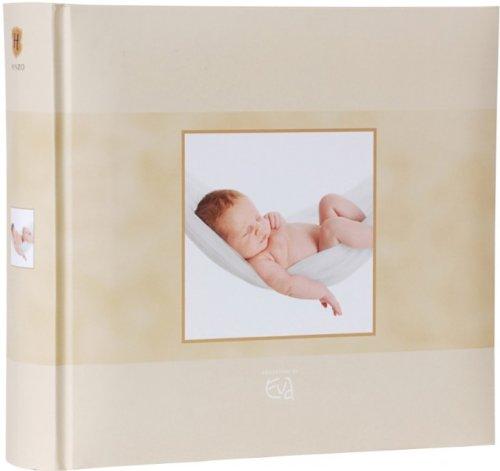 henzo-einsteckalbum-eva-born-sweet-dreams-beige-baby-album-fur-200-fotos-10-x-15-cm-babyfotoalbum-fo
