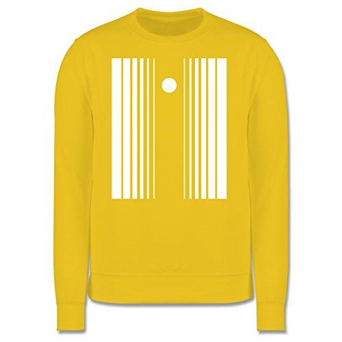 Karneval & Fasching - Doppler Effekt - M - Gelb - JH030 - Herren Premium Pullover