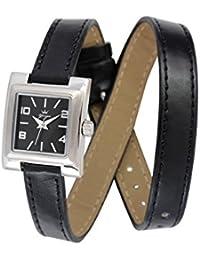 Yonger pour elle DCC 1586/01 - Reloj , correa de cuero color negro