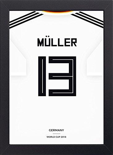 Frame Company Camiseta fútbol Copa Mundo, enmarcada