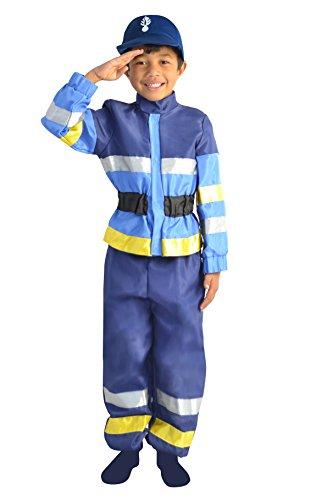 Cesar–F571–Kostüm Biker (Gendarm Kostüm Französische)