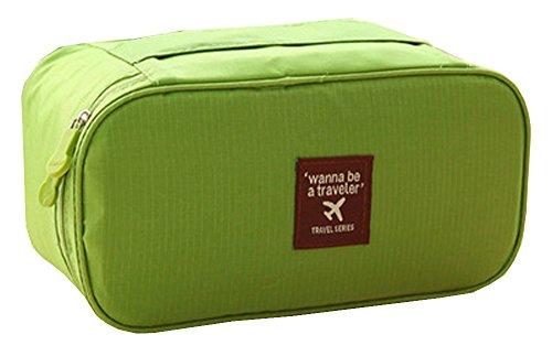Sac De Rangement ÉTanche Voyage Pour Tenir Underwears Stocking Bratissu Oxford Emballage Organizer Accessoires Voyage- vert