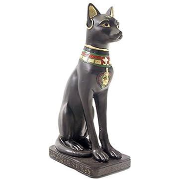 Par de egipcio Figura de gato estatua figura decorativa antiguo Egipto 4