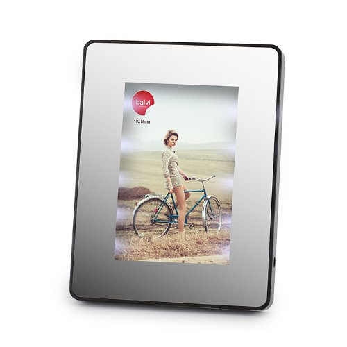 Rahmen & Spiegel Magic 13 x 18 LED schwarz (Frame Magic Photo)