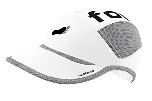 footSprint Super leichte Lauf-Mütze Running-Cap Kappe für Herren Damen tolle Farben für Sport und Freizeit, feinste Funktionsfasern atmungsaktiv hoch elastisch, [Sport & Freizeit Bekleidung] - Brooks Kappe