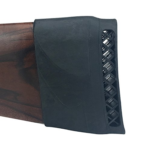 Tourbon Jagdschießen Gewehrkolben Stock Recoil Pad (schwarz) -