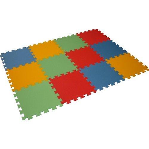 Preisvergleich Produktbild Bodenmatte Puzzlematte UNO (12 Teile) - 16 mm - 0+