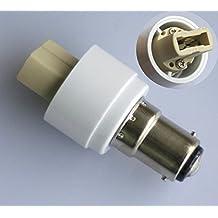 2x Adaptador B15B15D/BA15D a casquillo G9para lámparas halógenas led