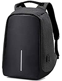 77542ca945 Pikyo ANT9 Fabric Anti-Theft Water Resistant Bag with Computer USB Charging  Port Lightweight Laptop