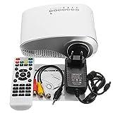 Meisijia Mini proiettore LED USB/VGA/Video HD Beamer del Fumetto del Bambino Cinema Proiettore per Film EU Plug