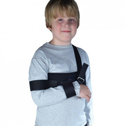BraceAbility Kid's Pediatric Arm Sling & Shoulder