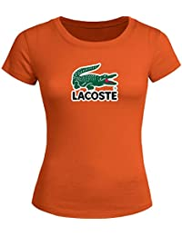 Classic Lacoste For Ladies Womens T-shirt Tee Outlet