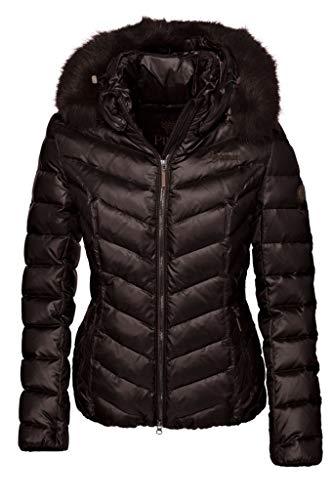 Pikeur Damen Daunen-Reitjacke Tabelle Farbe Reitbekleidung schwarz, Kleidergrößen 44