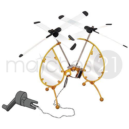 Preisvergleich Produktbild matches21 Dynamo Copter - Stromerzeuger - Versuche - für Kinder und Jugendliche ab 10 Jahren