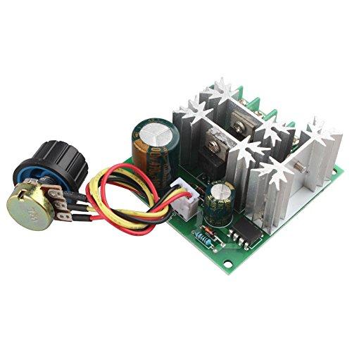 HALJIA DC 6V-90V DC controlador de motor 15A PWM interruptor regulador de velocidad ajustable PLC
