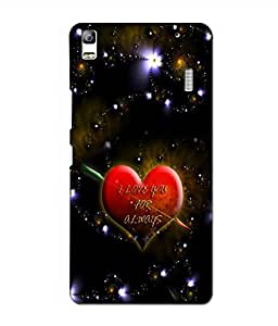 Crazymonk Premium Digital Printed 3D Back Cover For Lenovo K3 Note