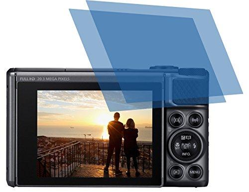 2x ANTIREFLEX matt Schutzfolie für Canon PowerShot SX730 HS Premium Displayschutzfolie Bildschirmschutzfolie Schutzhülle Displayschutz Displayfolie Folie
