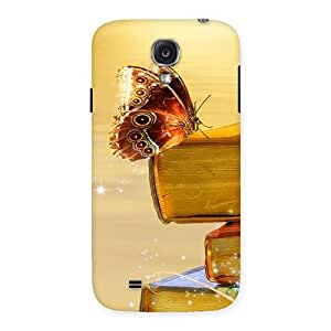 Book Butterfly Back Case Cover for Samsung Galaxy S4