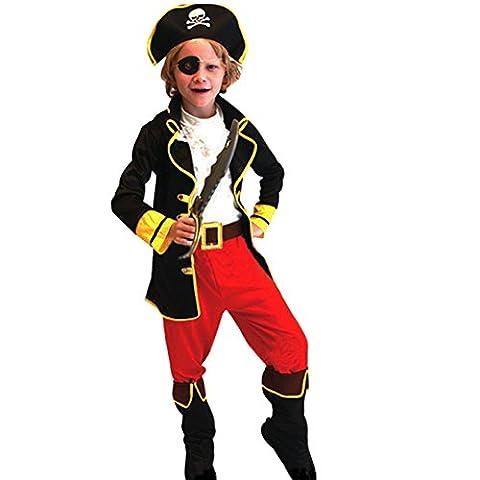 Costumes Garçons Vampire - CHIC-CHIC Déguisement Pour Enfant - Costume Pirate