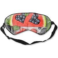 Schlafmaske mit Wassermelonenbeeren, 100% Maulbeerseide, Augenmaske preisvergleich bei billige-tabletten.eu