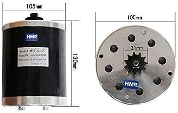HMParts Elektro Motor - 24V 500W - MY 1020 - E-Scooter / RC