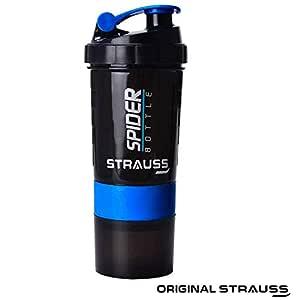 STRAUSS ST-1563 Spider Shaker Bottle 500ml (Blue)