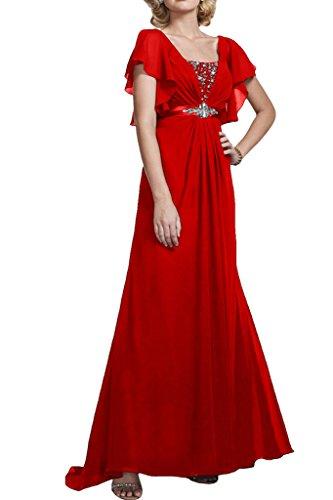 Missdressy -  Vestito  - linea ad a - Donna Rosso