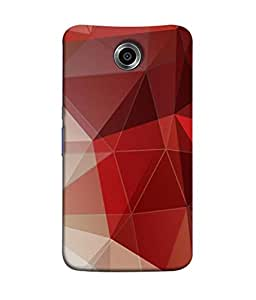 PrintVisa Designer Back Case Cover for Motorola Nexus 6 :: Motorola Nexus X :: Motorola Moto X Pro :: Google Nexus 6 (Diamond Pencil Con Jewel Interior Glass Break)