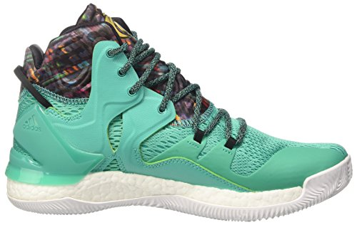 adidas D Rose 7, Basket homme Multicolore - Multicolore (Shkmin/Goldmt/Ftwwht)