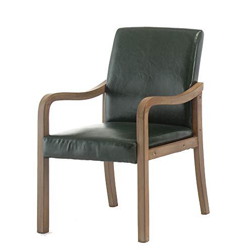 Unbekannt Stuhl Sessel Vintage Sitz Accent Chair Sofa Liege für Schlafzimmer Esszimmer Wohnzimmer Lounge Office Club 24 Farben (Farbe : 5) -