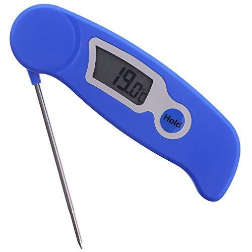 Kerzenherstellung Thermometer Digitalthermometer-Ideal Werkzeug für Kerze Makers für Melting Soja und Paraffin Wachs-Edelstahl Sonde leicht zu lesen Display -