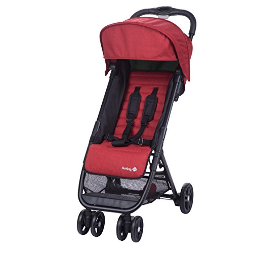 Safety 1st Buggy Teeny, ultra-kompakt, inkl. Transporttasche, ideal für die Reise, ab 6 Monate bis 3,5 Jahre, ribbon red (rot)