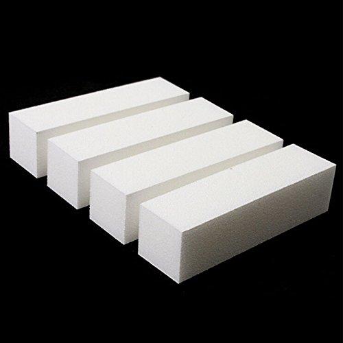 Buffing Block-datei (Buffer/Schleifblock, zur Maniküre und Pediküre geeignet, Acryl, 10 Stück)