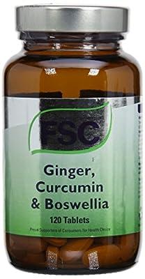 FSC Ginger Curcumin and Boswellia 120 Tablets