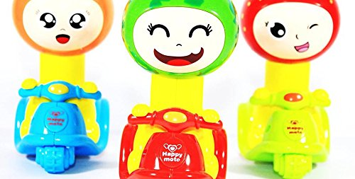 Vibgyor Vibes™ colourful Press and Go Animal Toys (Pack of 2)-Best for Return Gifts